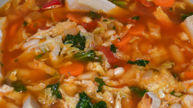 Ribollita Soup - Learn to Cook - MamaCarusoCooks.com