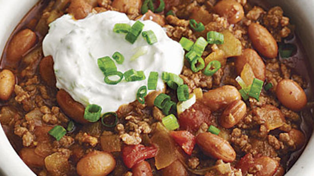 Chili with Butter Beans - Learn to Cook - MamaCarusoCooks.com