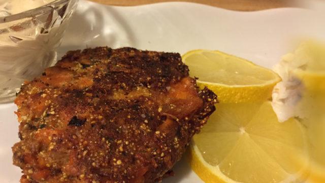 Salmon Cakes - Mama Caruso Cooks - Mamacaruso.com