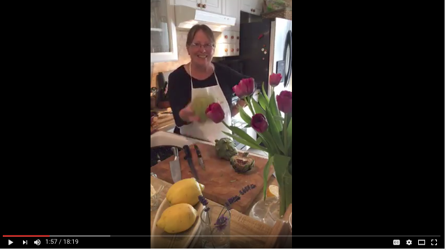 All about artichokes with Mama Caruso Cooks Hacks and Tips