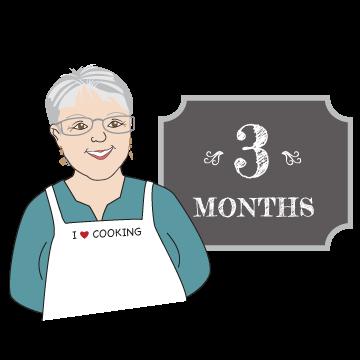 Mama Caruso Cooks 3 month membership