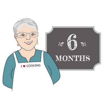 Mama Caruso Cooks Membership 6 months