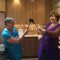 Mama Caruso Cooks with Mayor Mallory of Merryville usa