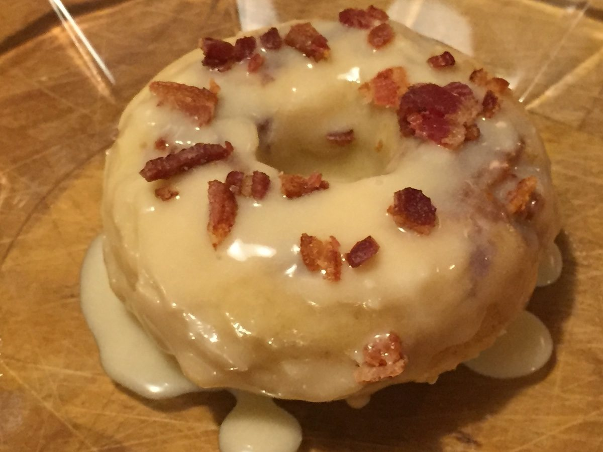 bacon donuts with mama caruso cooks in merryville